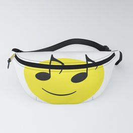 Happy Music Face Fanny Pack