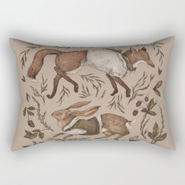 Tricksters Rectangular Pillow