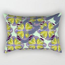 Bali Surf Flower Working Pattern Series Rectangular Pillow