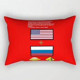 Devilcare Rectangular Pillow