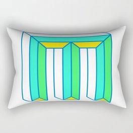 Letter M Rectangular Pillow