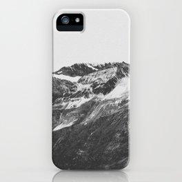 THE MOUNTAINS XVI / Switzerland iPhone Case