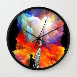 The Space Between Us Wall Clock