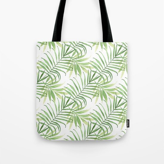 Tropical Branches Pattern 05 Tote Bag
