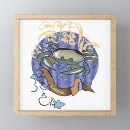 Cancer zodiac Framed Mini Art Print
