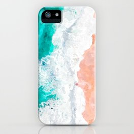Beach Illustration iPhone Case