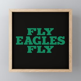 Fly Eagles Philly Framed Mini Art Print