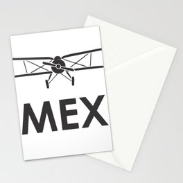 Mexico  airport code Stationery Cards