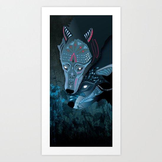 I am neither walker nor sleeper Art Print