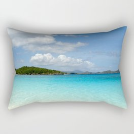 Trunk Bay, St. John Rectangular Pillow