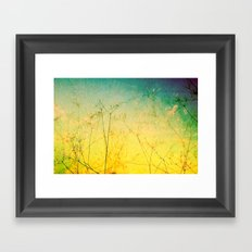 Green Decay Framed Art Print