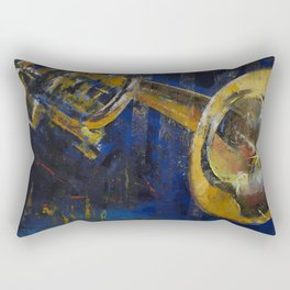 Trumpet Rectangular Pillow