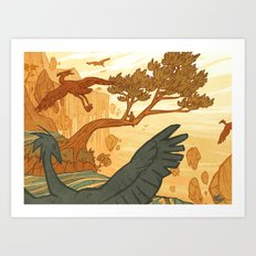 Journey to the Edge of the World Art Print