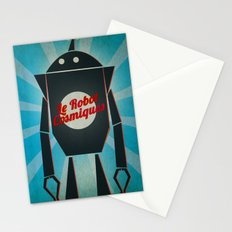 Le Robot Cosmiques Stationery Cards