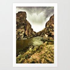 The Wind River Art Print