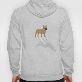 Wild At Heart - Fawn French Bulldog Hoody