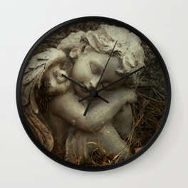 November Cherub Wall Clock