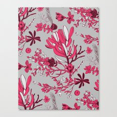 Fuchsia Cradle Flora Canvas Print