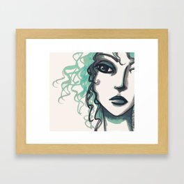 A Sidelong Look ...  Framed Art Print