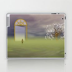 strange world - strange landscape Laptop & iPad Skin