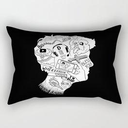 Toby Turner Light Silhouette Rectangular Pillow