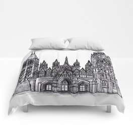 Rouen Cathedral Comforters
