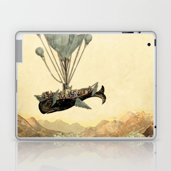 whale flight I Laptop & iPad Skin