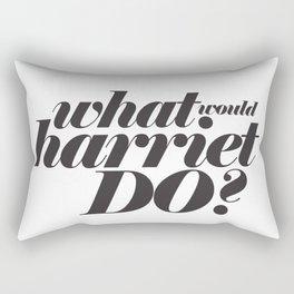 WHAT WOULD HARRIET DO? Rectangular Pillow