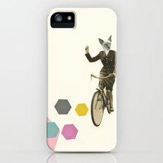 Cat Lady iPhone SE Slim Case