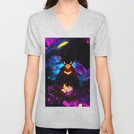 Neon Raven Unisex V-Neck