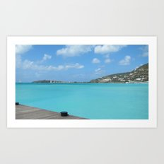 St. Maarten Art Print