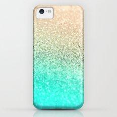 GOLD AQUA Slim Case iPhone 5c