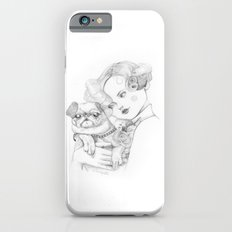 Vintage pug Slim Case iPhone 6s