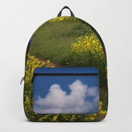 Mustard-covered Meadow Backpack