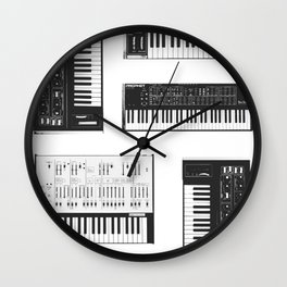 Collection : Synthetizers Wall Clock