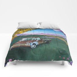 Flower Truck Comforters