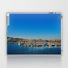 The Boats of Howth Harbor Laptop & iPad Skin