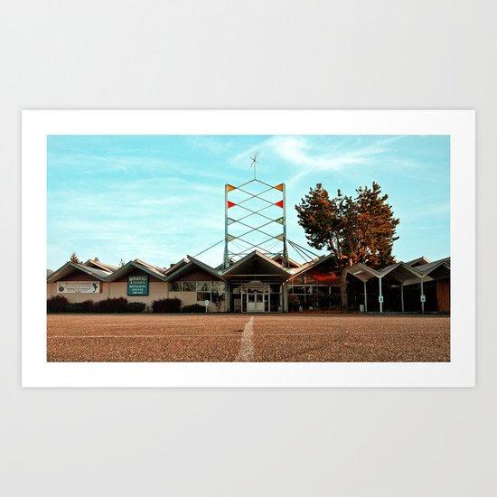 Bowlero Lanes Art Print