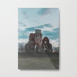 Medieval church Metal Print