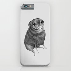 Sweet Black Pug iPhone 6 Slim Case