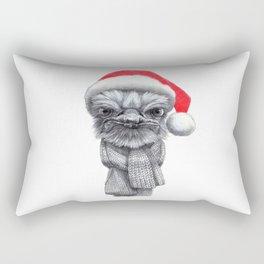Christmas Ostrich red G145 Rectangular Pillow