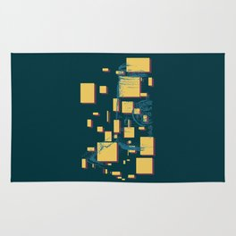 I Am What I Eat - Peanut Butter in color Rug