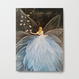 The Butterfly Fairy Metal Print
