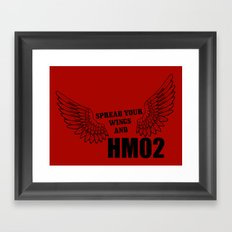 Spread your wings and HM02 Framed Art Print