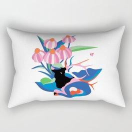 Elk trippin' Rectangular Pillow