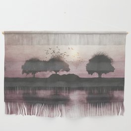 Positive Sunset Wall Hanging