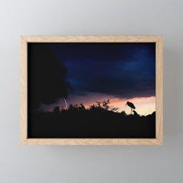 Calm in the Storm Framed Mini Art Print