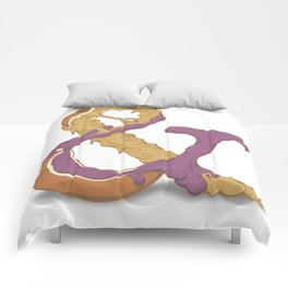 Peanut Butter & Jelly Comforters