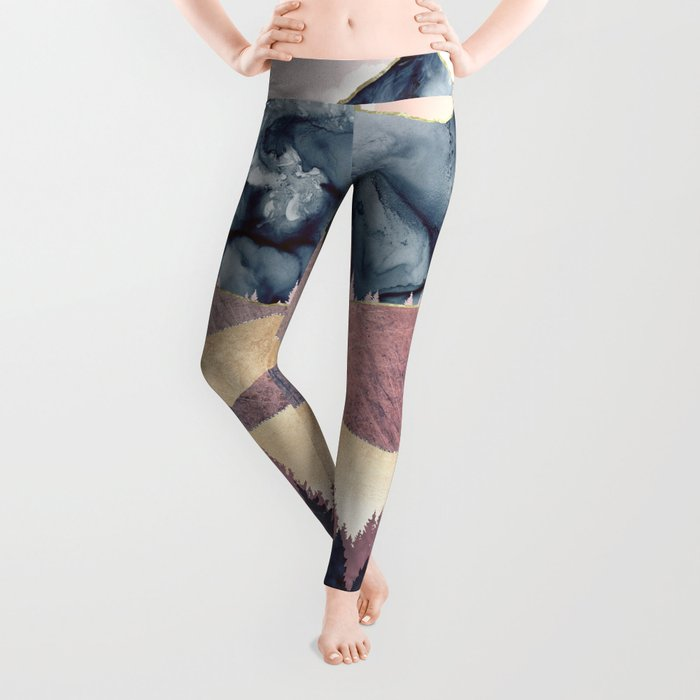 Mauve Vista Leggings
