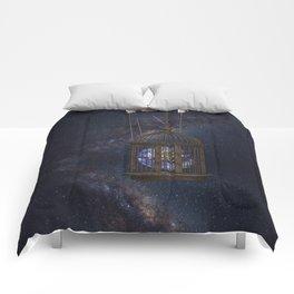 Surrealism Fantasy Earth Comforters